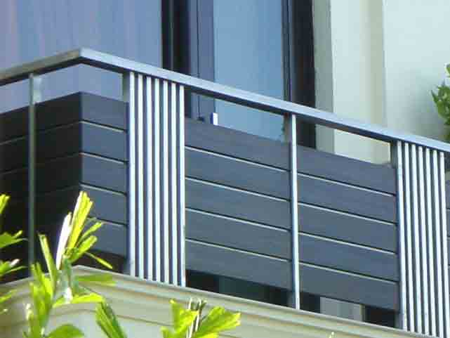 Aluminium Balcony Railing Design