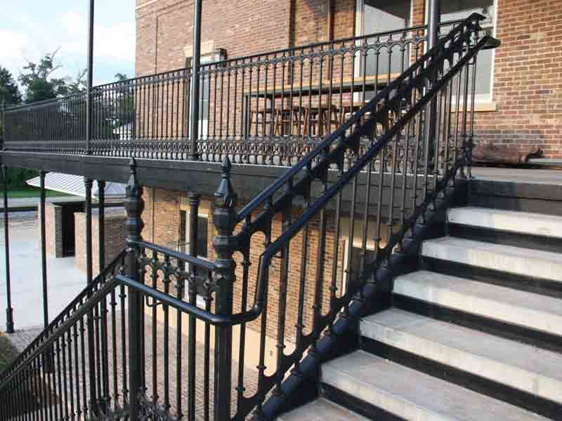 Cast Iron Balcony Railing Design
