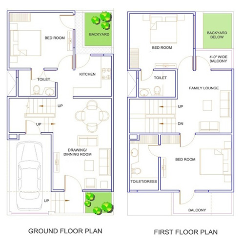 25 Feet By 40 Feet House Plans Decorchamp