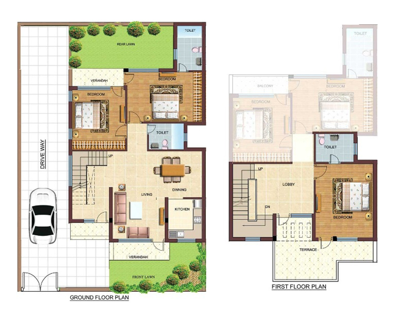 40 feet by 60 feet house plan decorchamp for House plan for 30 feet by 40 feet plot