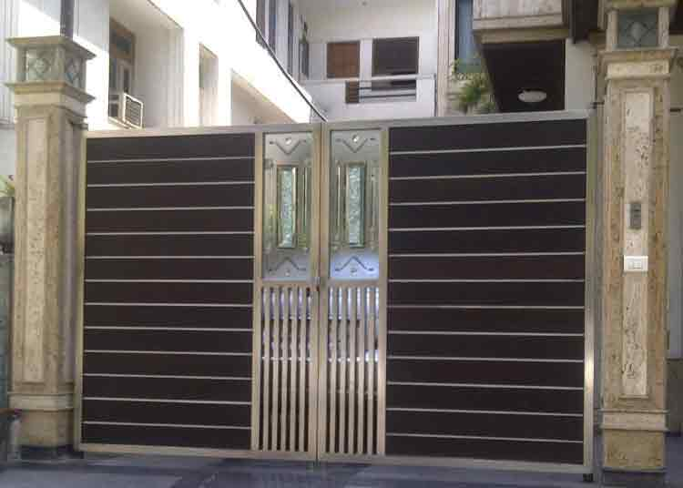 Metal Main Gate Design