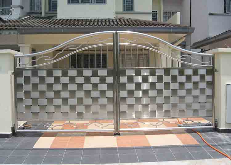 Steel Main Gate