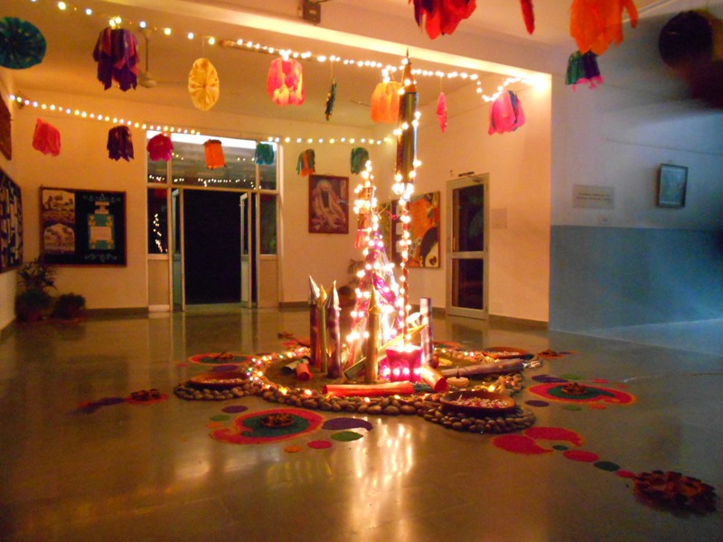 Diwali Decoration with Paper