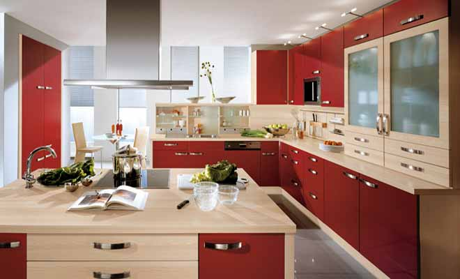 Kitchen Design G Shape g shaped modular kitchen designs photos - decorchamp