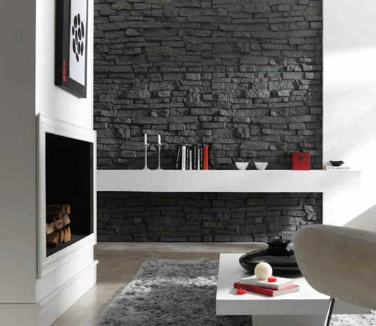 Design Ideas Of Wall Claddings For Living Room