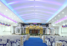 marriage hall construction cost