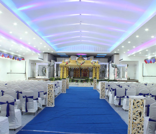 Dasaprakash marriage hall chennai silks