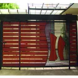 Single Gate Design Modern Entrance