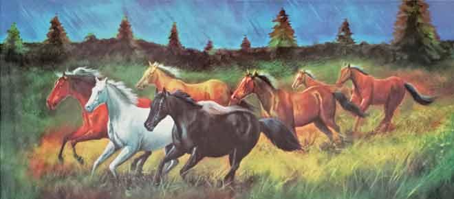Vastu Shastra for Running Horse Painting - DecorChamp