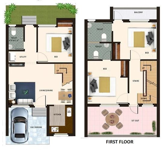 20 Feet By 45 Feet House Map Decorchamp