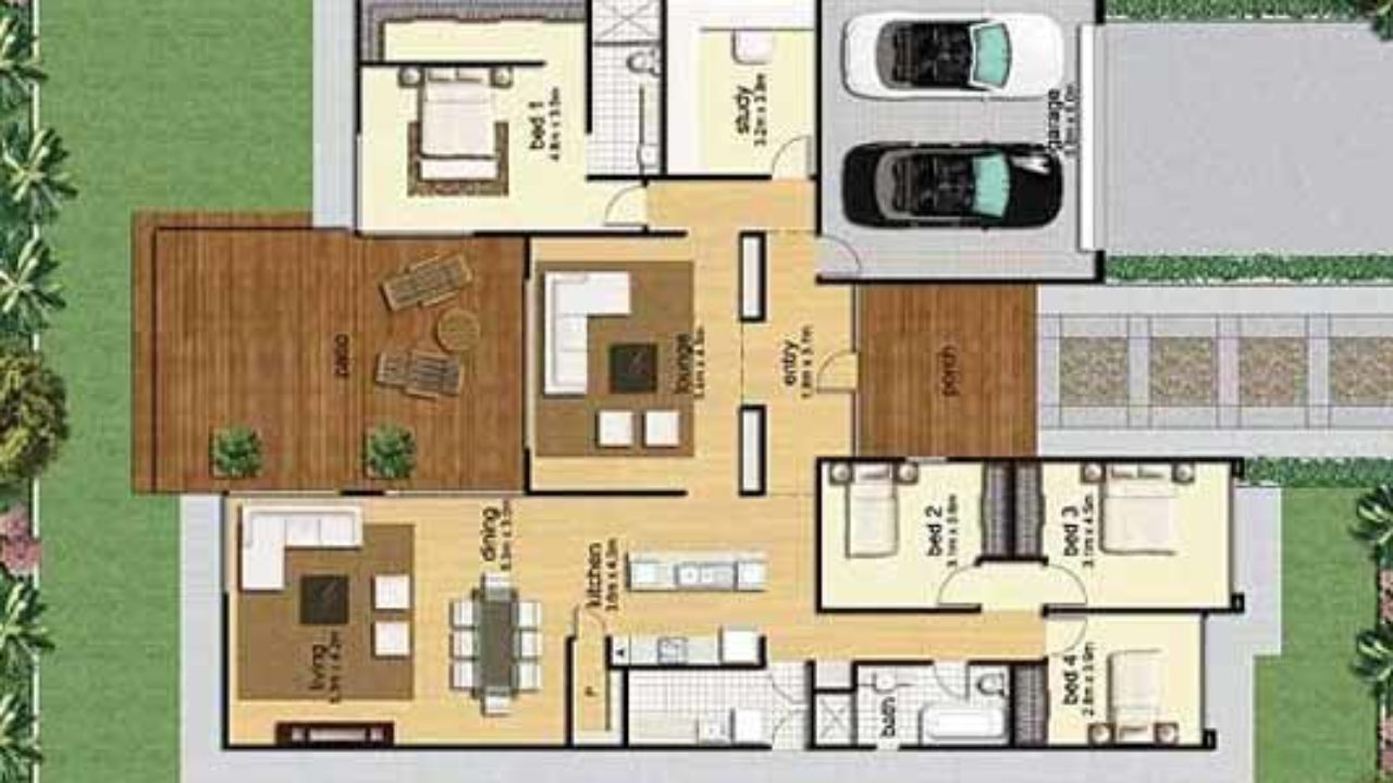 30 by 40 Feet 2bhk 3BHK House Map with Photos - DecorChamp Butifull The Houses Of Maps on