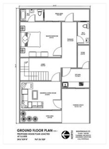 25x50 House Plan East Facing As Per Vastu | House Plan Map on 20 x 20 home plans, india home plans, architects home plans, exterior home plans, kerala home plans, 2bhk home plans, feng shui home plans, pyramid home plans, construction home plans, nalukettu home plans, vedic home plans, future home plans, estate home plans, interior home plans,