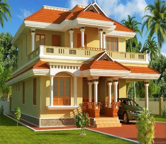 Best Colour Combination For Home Interior: Colour Combinations For Homes Exterior (Outside Colour Of